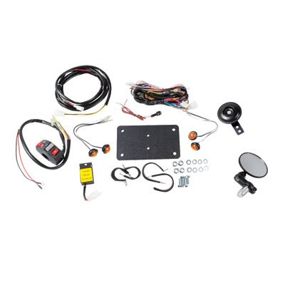 Tusk Universal ATV Street Legal Kit With Recessed Signals - For use with ATV's With Existing Brake Lights.
