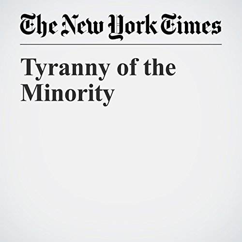 Tyranny of the Minority copertina