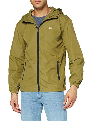 Tommy Jeans Herren TJM PACKABLE WINDBREAKER Windjacke, Uniform Olive, S