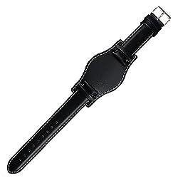 Bund Strap Waterproof Leather Watch Strap