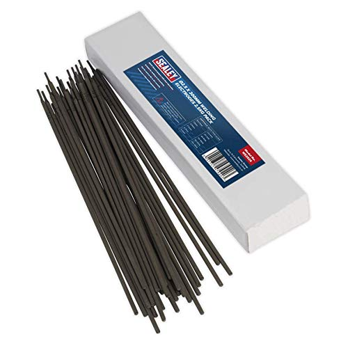Sealey WE2525 Schweißelektroden 2,5 x 300mm 2,5 kg-Pack, Schwarz, Ø2.5 x 300 mm