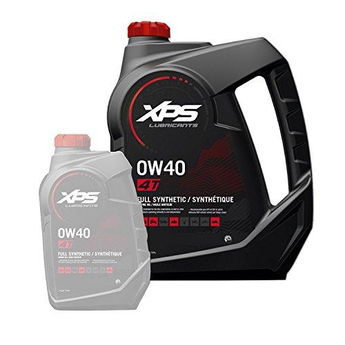 BRP Ski-Doo Can-Am Sea-Doo XPS OEM 4-Stroke Full Synthetic Oil Gallon, 779140