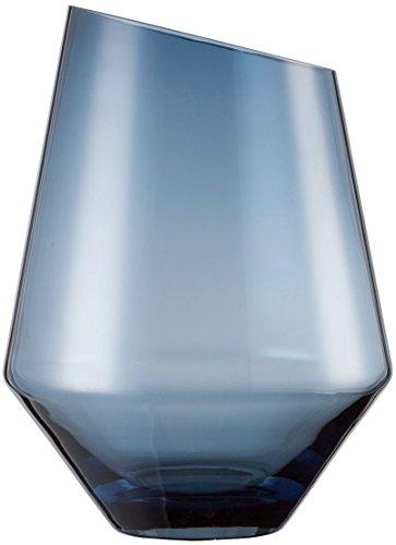 Zwiesel 1872 Diamonds Vase/Windlicht, Glas, blau, 27,7 x 20,8 cm