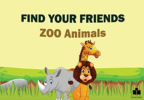 Find your friends: ZOO Animals (English Edition)