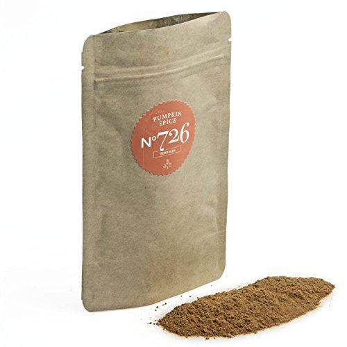 Bio Pumpkin Spice N°726 - perfekt für Kürbisgerichte - würzig,warm & lieblich, gemahlen, im praktischen Kraftpapier Zip-Beutel, Inhalt: 55g