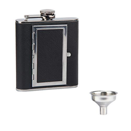 Kitchnexus 5/6 Onces - Fiaschetta da vino Alcool e portatile per sigarette, 2 utilizzi con imbuto