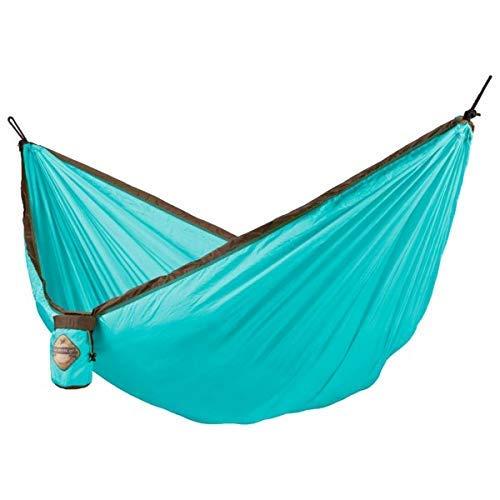 La Siesta Colibri - Parachute zijde enkele reis hangmat met geïntegreerde ophanging