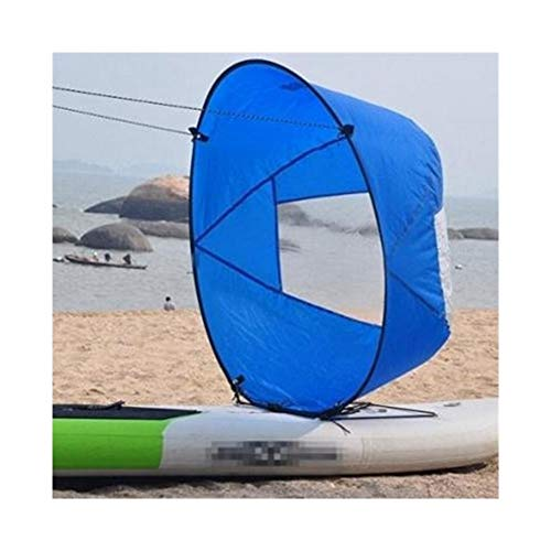 Accesorios de tabla de surf Shortboard Beach ruedas blandas del cuerpo inflable Boogie Board Standup Paddle Surf Paddleboard tabla de surf bolsa de Padel Stand Up Para tablas de surf ( Color : Blue )