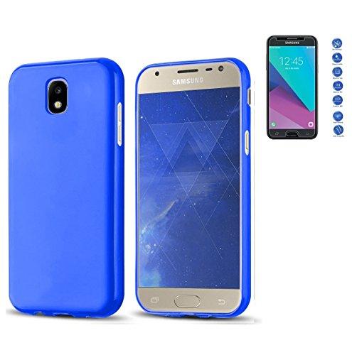 Todobarato24h Funda TPU Lisa Compatible con Samsung Galaxy J7 2017 Azul +...