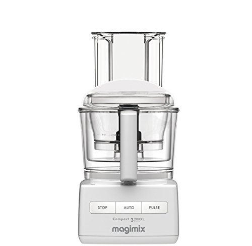 Magimix Compact 3200 XL – Food Processors (White, Plastic)