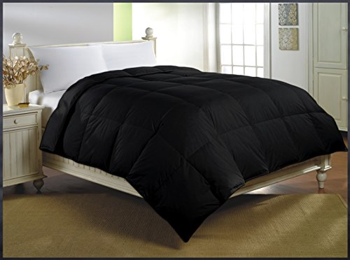 Luxlen Cotton Twin XL Black Comforter | Down Alternative