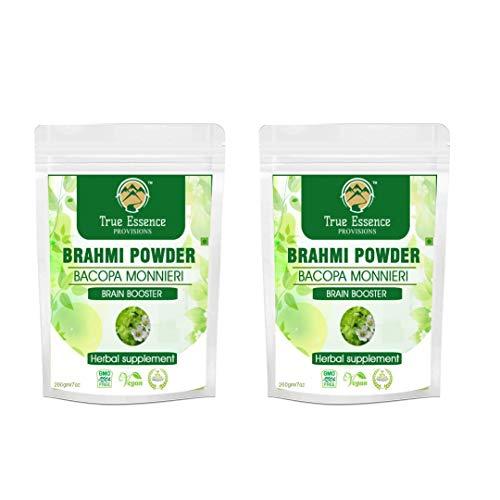 Trisha Heera Ayurvedic Research Foundation Brahmi Powder 400 Gm (Pack of 2)|Bacopa Monnieri| Brain Boost