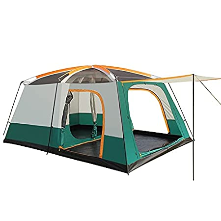 YGY Camping Tent 2 Room Large Space