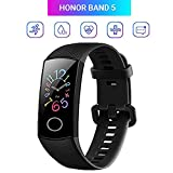 Honor Band 5 Activity Tracker 0,95' Schermo AMOLED a Colori 50M Waterproof Heart Rate Monitor...