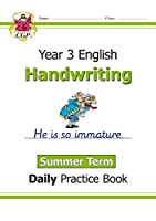 New KS2 Handwriting Daily Practice Book: Year 3 - Summer Term