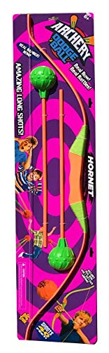 Big Time Toys Archery Dodgeball Darts Hottest New Trend 1 Bow, 2 Arrows Indoor/Outdoor Fun! Colors Will Vary
