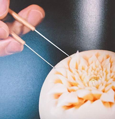 KENNKUNN 和菓子の道具 生菓子 針切り箸 (スタイル 1)