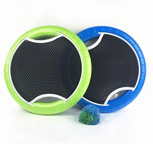 shengo Frisbee Sport Set, 2 Softdiscs con malla elástica, 1 pelota, Spiel-Klassiker, Gartenspiel Beach Wurfspiel para niños / adultos