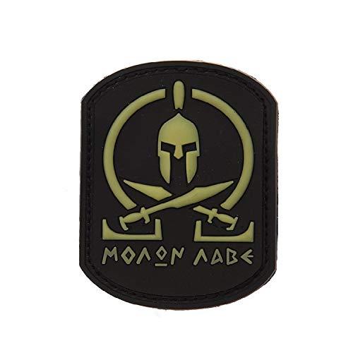 Copytec PVC 3D Label Patch Moaom Aabe Sparta Leonidas Infidel 5x7cm #18461