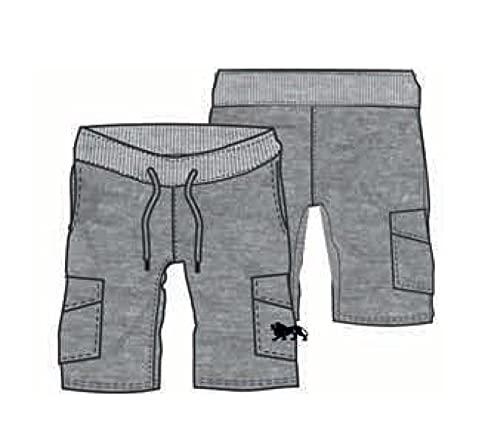 Lonsdale Pantaloncino Palestra Uomo Sportivi da Jogging Basket 100% Cotone Pantalone da Uomo Casual Elastico Estivo Ragazzo Pantaloncino Running Pantaloncini Sportivi da Allenamento (S, Grigio 180)
