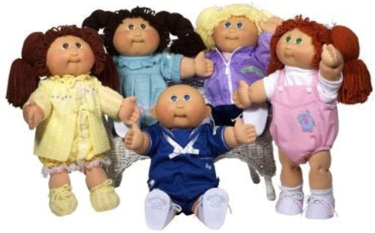 Cabbage Patch Kids 25th Anniversary Doll  Caucasian Boy with Brown Hair