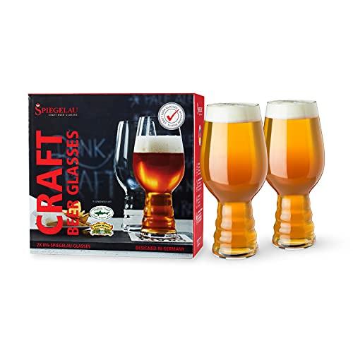 Spiegelau & Nachtmann, Cristal, Craft Beer Glasses, Vidrio, Claro, 2 Gläser