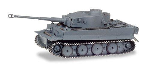 herpa 745963 Fahrzeug Panzerkampfwagen Tiger AUSF. H1, dekoriert, Russland Kursk, Farbig