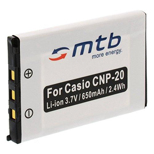 Ersatz-Akku NP-20 für Casio Exilim EX-Z18, EX-Z60, EX-Z65, EX-Z70, EX-Z75