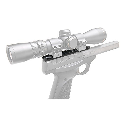 B-Square Browning Buckmark .22 Universal Pistol Scope Mount, Matte Black Finish