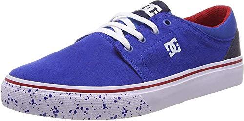 DC Shoes Trase Se, Zapatillas de Skateboard Niños, Azul (Navy/Red Nrd), 36 EU