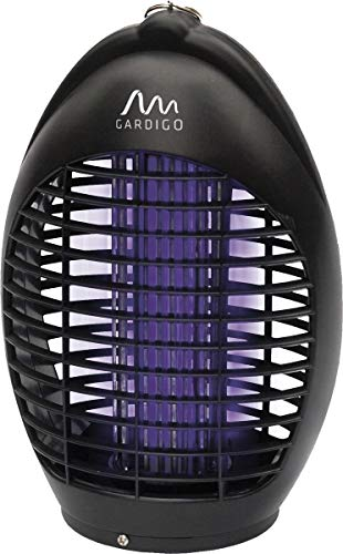 Gardigo Fluginsektenvernichter 20 m², Insektenvernichter, Insektenschutz mit UV-LED gegen Mücken