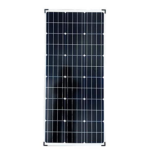 100 Vatios 12v24v Panel Solar De Silicio Monocristalino Hogar Autocaravana Eficiente Iluminación del Hogar Batería Batería De Litio Panel Solar