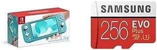 Nintendo Switch Lite ターコイズ + Samsung EVO Plus 256GB microSDXC