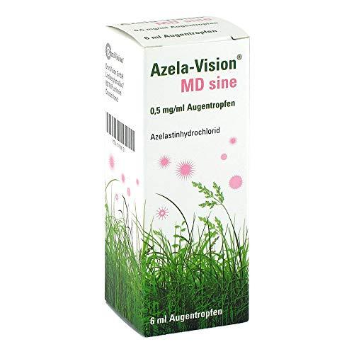 azela-vision md sine 0,5 mg/ml augentropfen 6 ml