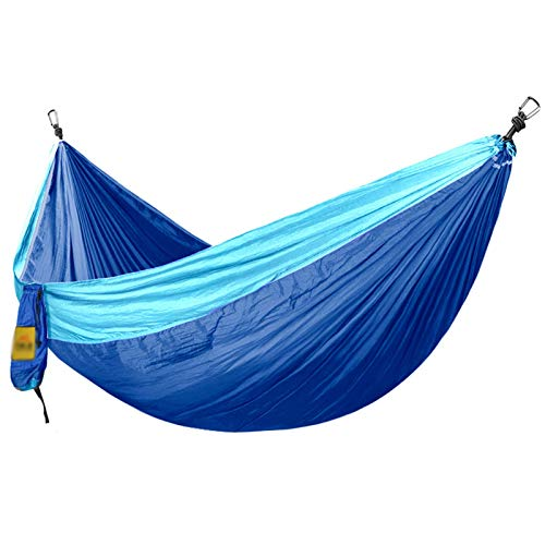 TIANYOU Camping Hammock Travel Secado Rápido Paracaídas Tela de Nylon Fáciles de Guardar para Al