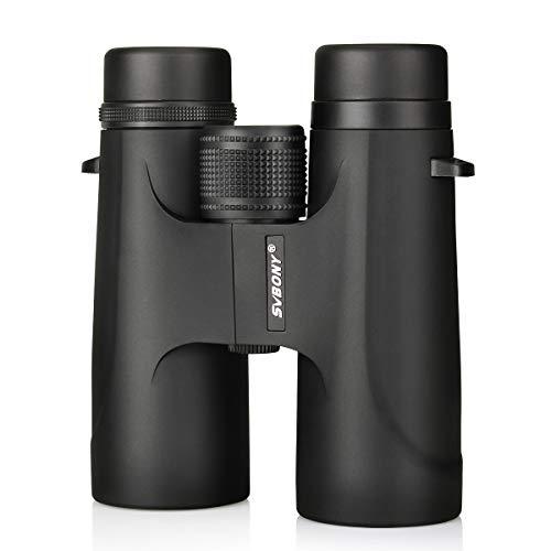 Svbony verrekijker voor volwassenen BaK4 Prisma voor jacht vogelobservatie wandelen reizen (zwart)