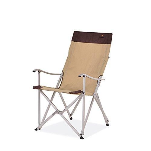 Tumbona de playa al aire libre para jardín Silla plegable al aire libre de la silla plegable del ocio al aire libre, silla portátil de la pesca de la silla para la barbacoa de la comida campestre