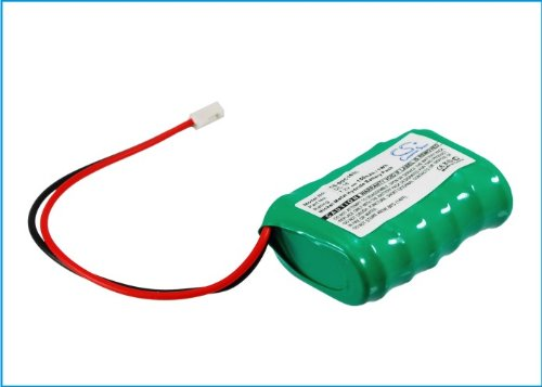 Replacement Battery Part No.DC-16 for Field FT-100, Trainer SD-400S, for PETSAFE 250m PDT20-12471, 400m PDT20-10646 for SPORTDOG SD-400 Transmitter, Dog Collar Battery