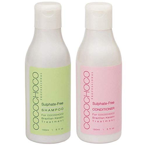 COCOCHOCO Professional Set Nach der Pflege - Sulfatfreies Shampoo (150 ml) und Sulfatfreies Konditioner (150 ml)