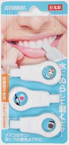 クリアデント歯のピーリングスポンジ(ブルー・ピンク指定不可)