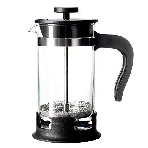 Cafeteras de émbolo Cafetera French Press - [Filtro doble - la Purísima de café hecho en casa/té] [Premium acero inoxidable] [Grueso Resistente al calor pote de cristal, 400ml (Size : 1000ml)