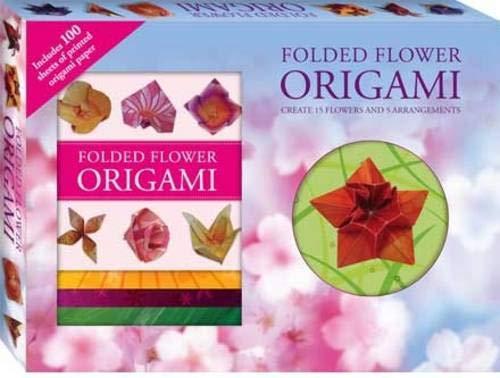 Folded Flower Origami (Gift Box)