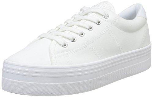 Unbekannt No Name Plato Damen Sneaker, Weiß - White Fox White - Größe: 40 EU