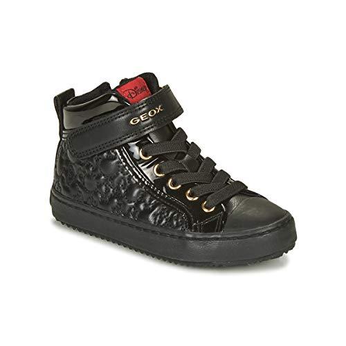 Geox J Kalispera Girl J044GG0MMHH, Sneaker para Niñas, (Black), 25 EU
