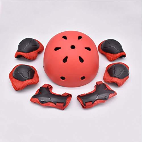 DPGPLP Juego de casco de bicicleta para niños, de 4 a 11...