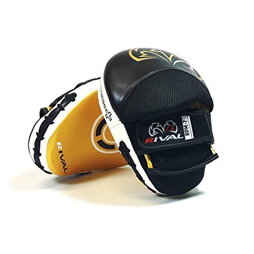 Rival RPM7 Fitness Plus Schlaghandschuhe aus Leder, Schwarz/goldfarben, schwarz/goldfarben, Einheitsgröße