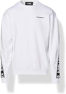 KARL LAGERFELD Logo Tape Sweatshirt Maglia di Tuta Uomo