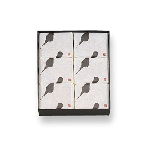 長岡京 小倉山荘【明月菓寮】鈴カステラ 6袋箱