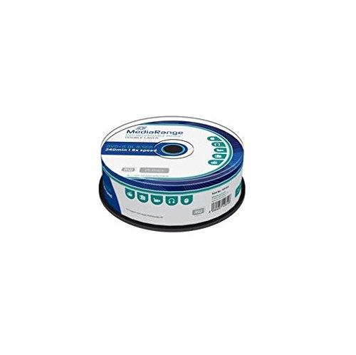MediaRange DVD+R vergini Dual Double Layer 8,5GB 8x 240min. Cake 25