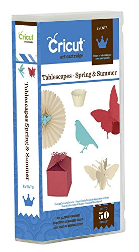 Cricut Events Tablescapes Spring and Summer Cartridge